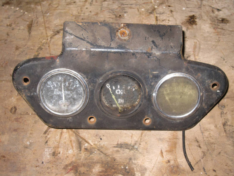 Farmall 300 Parts : Farmall ih utility tractor instrument panel ebay
