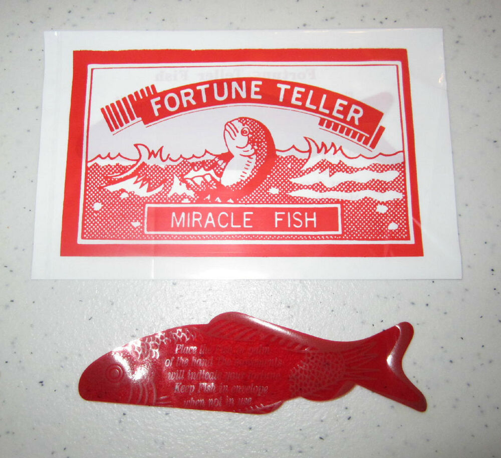144 fortune teller miracle fish magic telling palm reading for Fortune teller fish