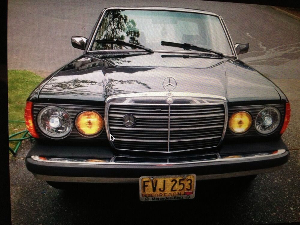 Real Projector Headlights Fits Classic Mercedes Includes