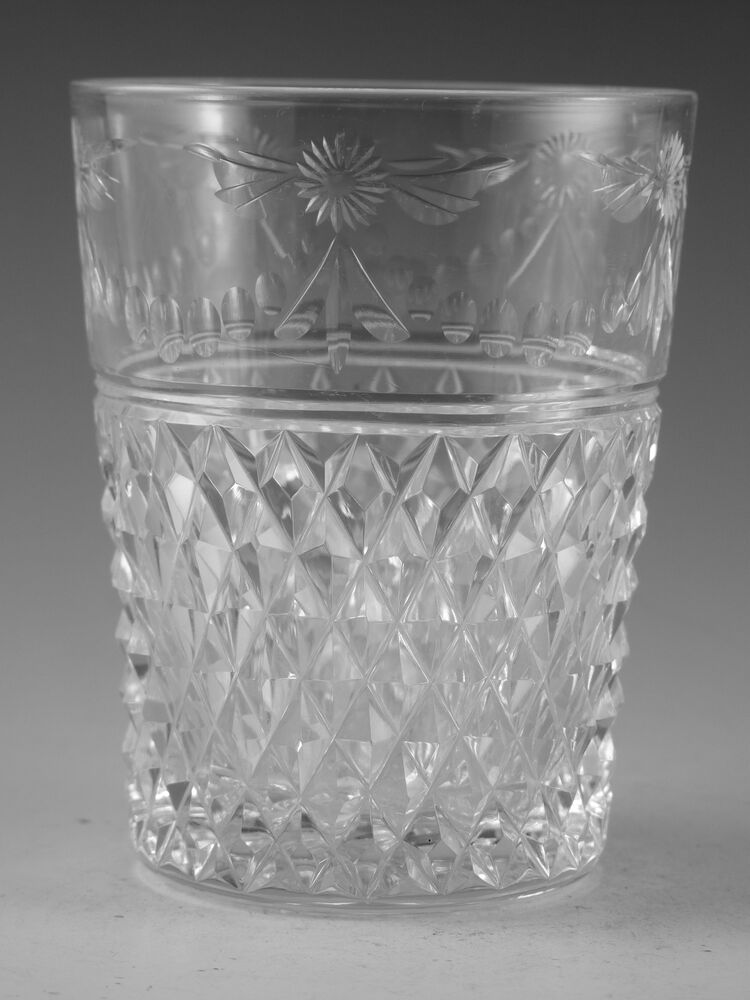 Stuart crystal beaconsfield cut old tumbler glass for How to cut yourself with glass