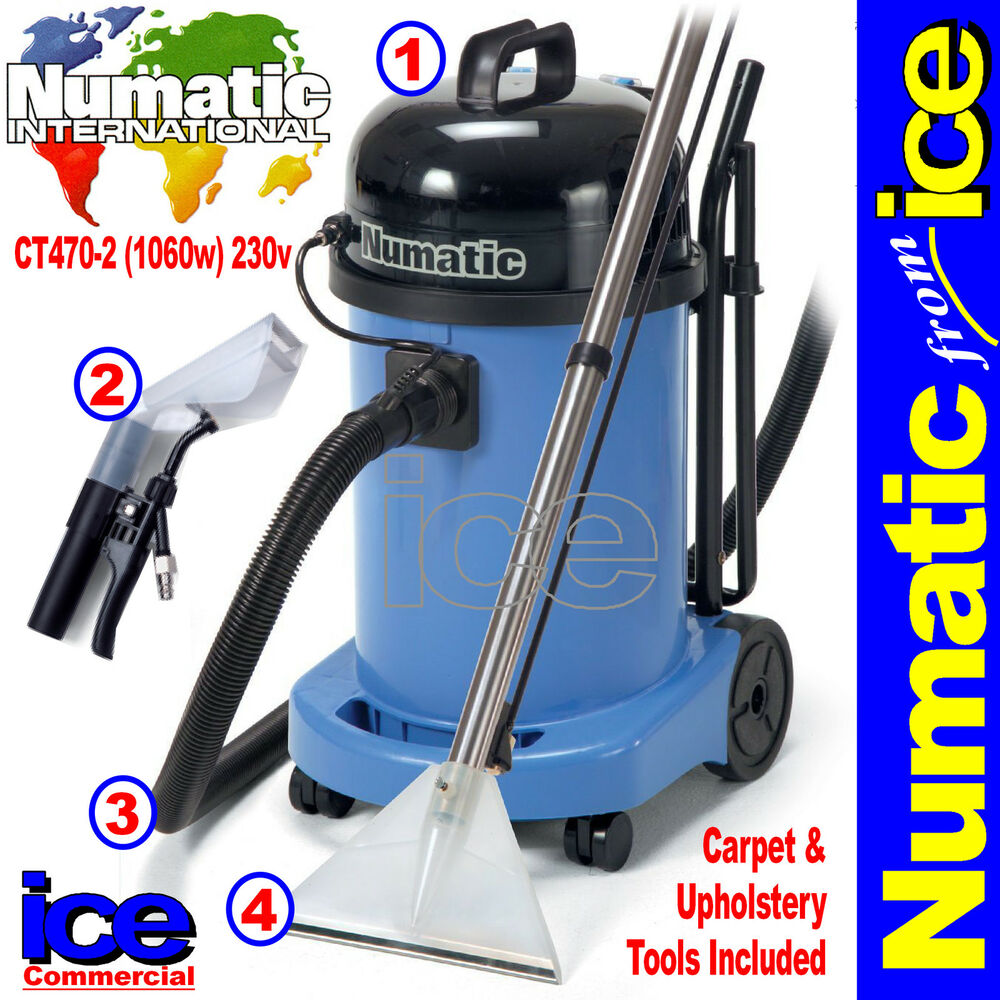 Numatic Ct470 2 Car Valeting Carpet Amp Upholstery Wash
