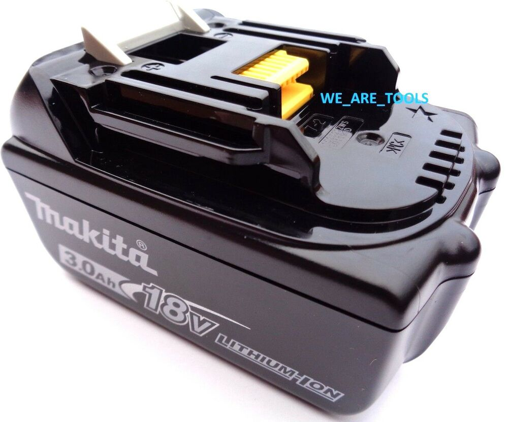New genuine makita battery bl1830 3 0 ah 18 volt for drill - Batterie makita 18v ...