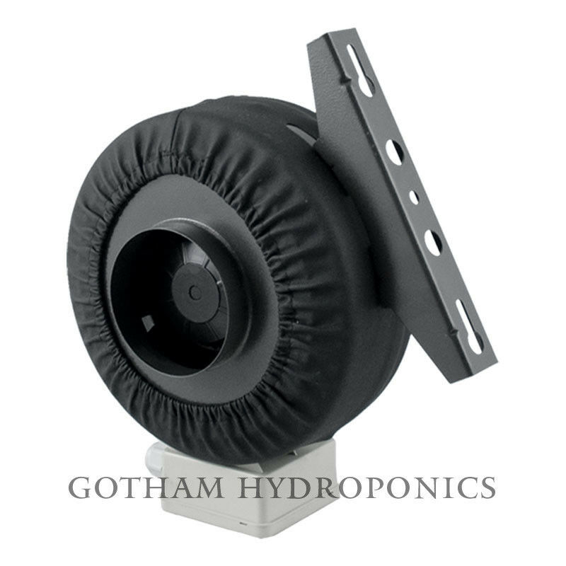 Inline Duct Vent : Quot inch inline fan hydroponics exhaust duct vent blower