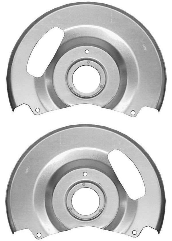 Chevy Truck Brake Backing Plate : New disc brake dust shields backing plates chevy c
