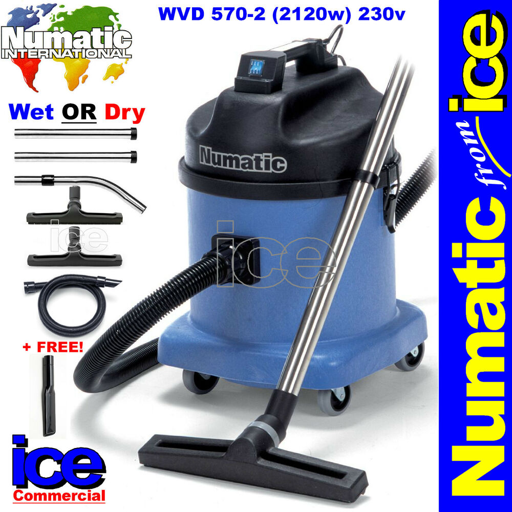 Numatic Wvd570 2 Wet Or Dry Commercial Car Wash Valeting