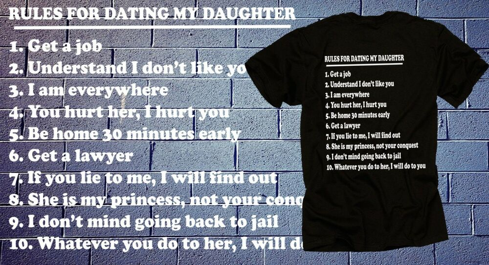 Rules for dating my niece shirt