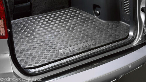toyota rav4 cargo mat rubber liner 30 series 2005 2012. Black Bedroom Furniture Sets. Home Design Ideas