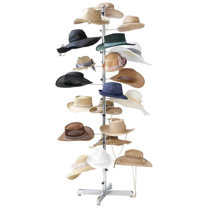 New Casual Outfitters Retail Floor Display Hat Rack 72
