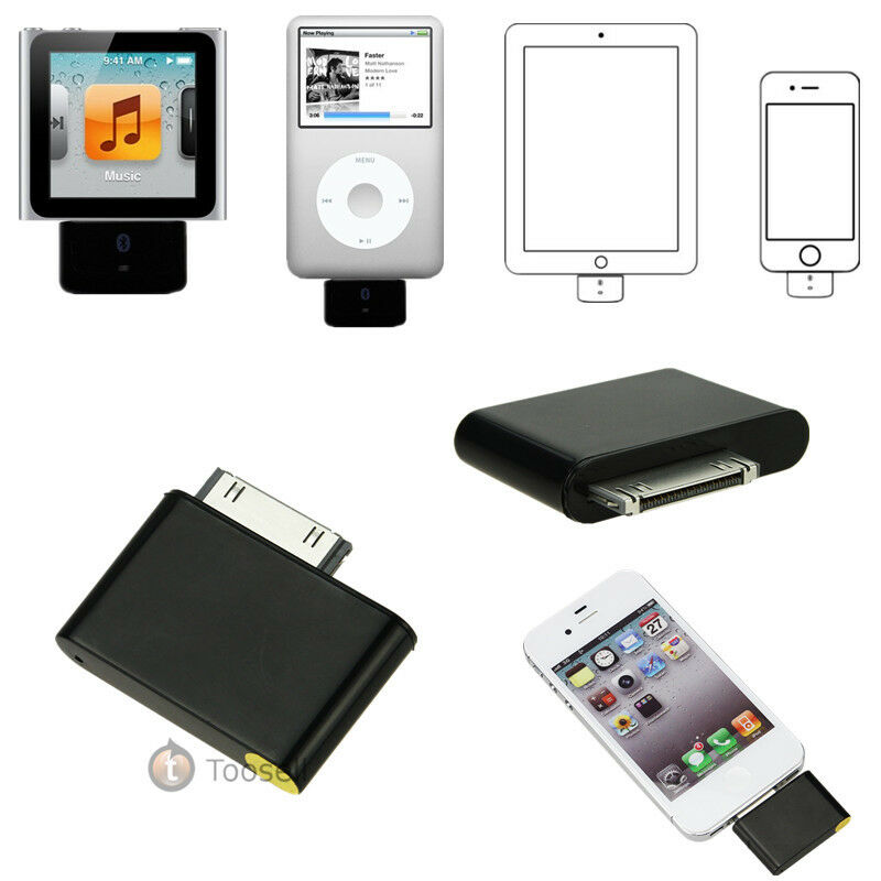 new bluetooth adapter for ipod classic touch nano video. Black Bedroom Furniture Sets. Home Design Ideas