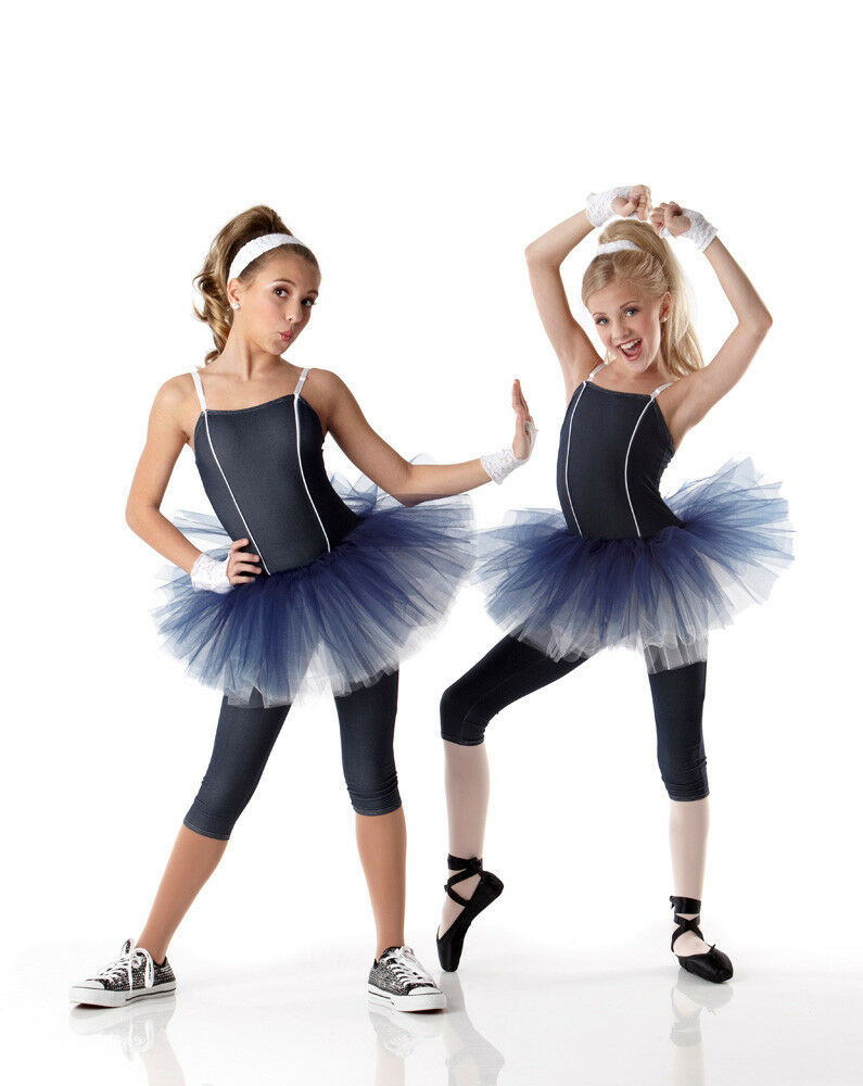 Hip Hop Jazz Tap Ballet Tutu Dance Costume Child 6X7 & CXL Adult ...
