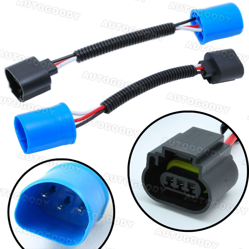 9007 headlight bulb wiring diagram 9007 hid relay wiring diagram free picture 9007 to h13 headlight conversion pigtail connector wire ...