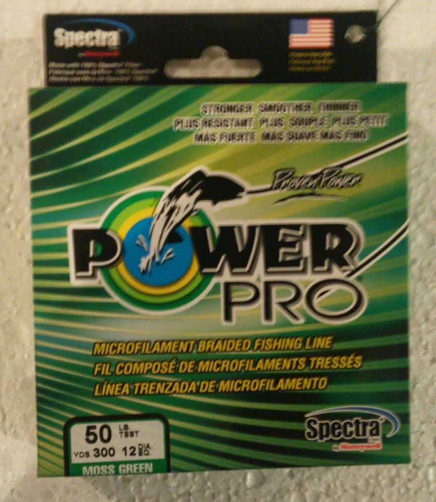 Power pro spectra braided fishing line green 30 lb 300 yd for 30 lb fishing line