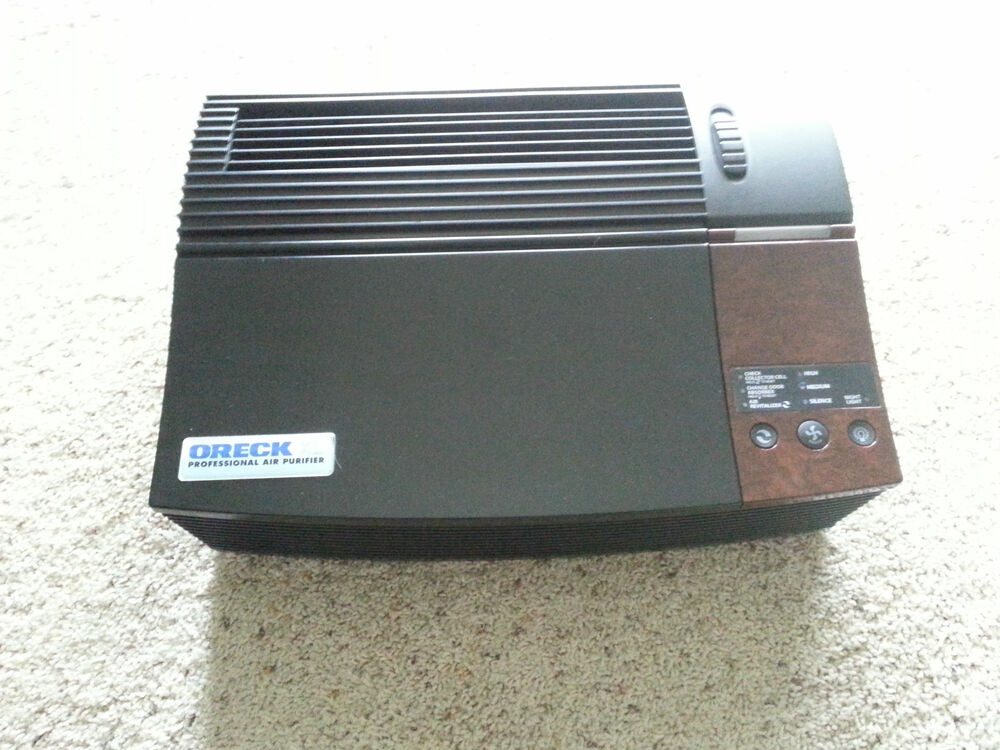 oreck xl professional ionizer air purifier 662712091747 ebay. Black Bedroom Furniture Sets. Home Design Ideas