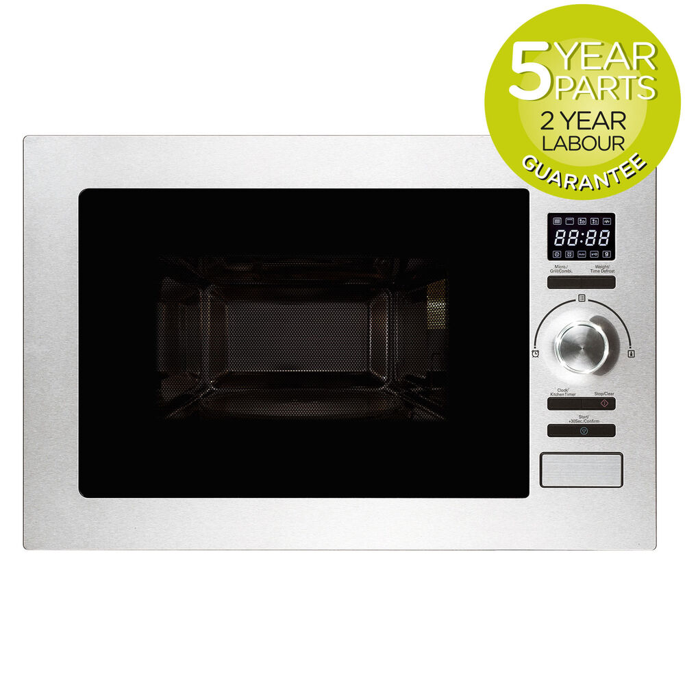 Myliances Ref28601 Built In 25l Combination Microwave Grill Oven S Steel
