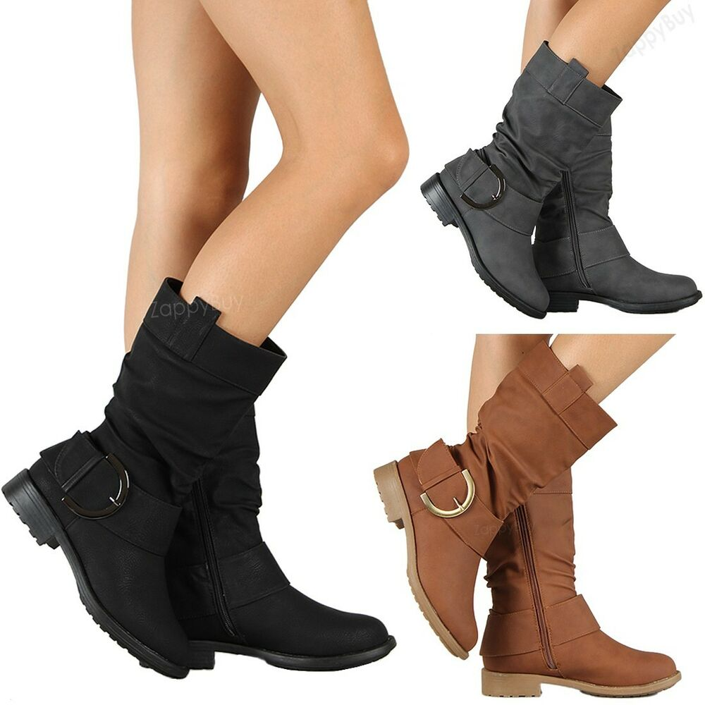 women s boots toe slouch fashion dressy boot low