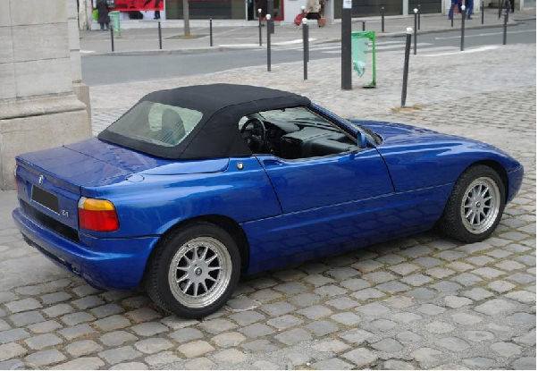 bmw z1 roadster 1989 1991 soft top convertible car hood ebay. Black Bedroom Furniture Sets. Home Design Ideas