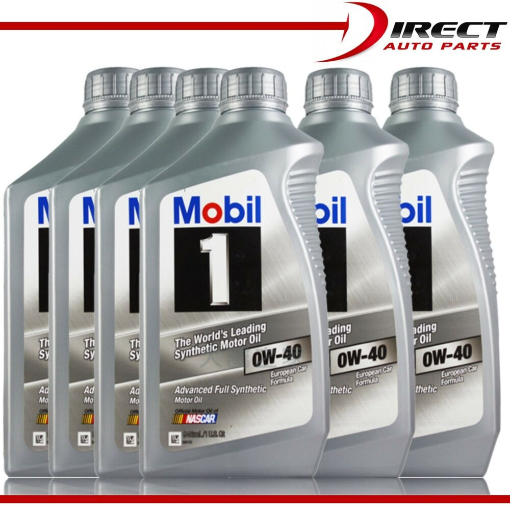 6 quarts fully synthetic 0w40 mobil 1 advanced motor oil. Black Bedroom Furniture Sets. Home Design Ideas