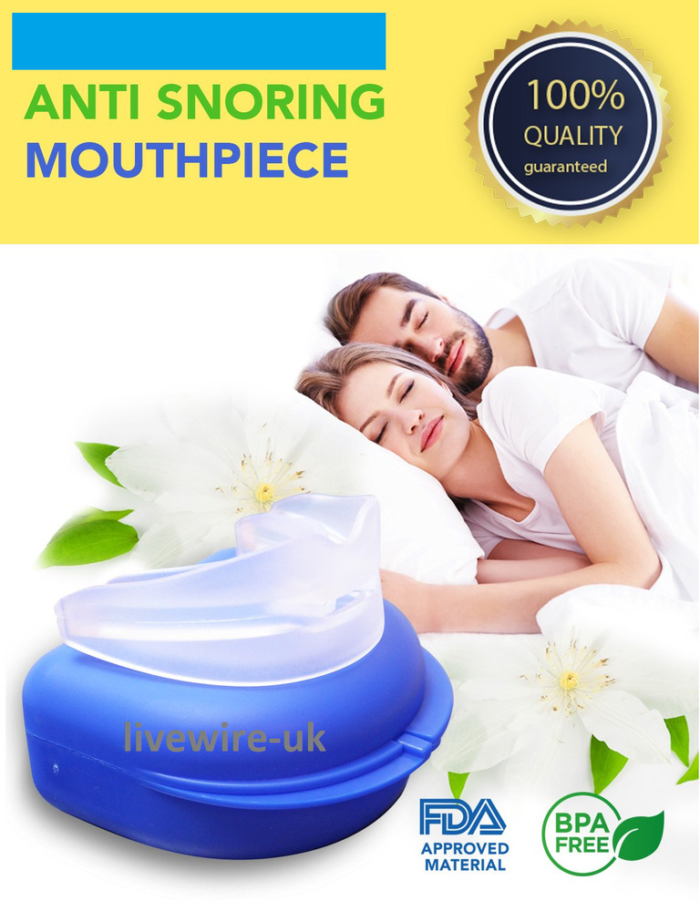 nhs sleep defender pro - anti-snoring mandibular mouthpiece