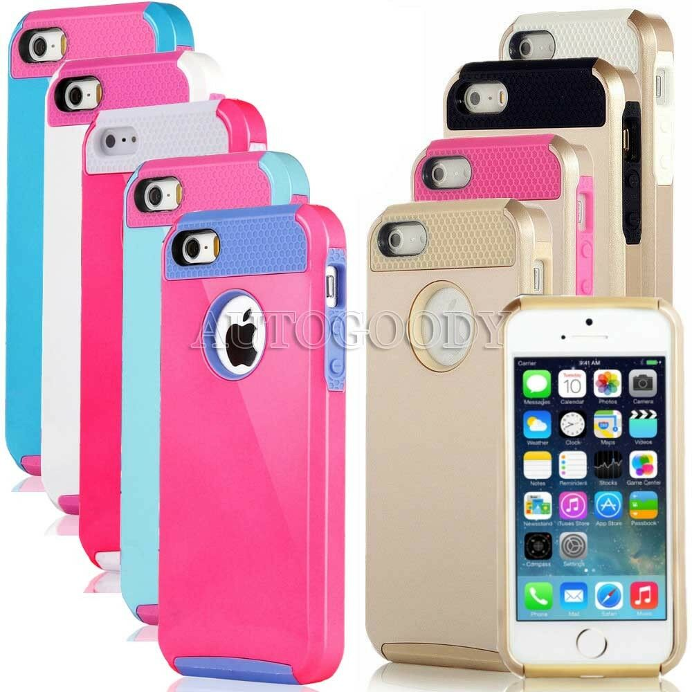 ebay iphone 5s cases for iphone 5 5s gold pc shockproof dirt dust proof 14041