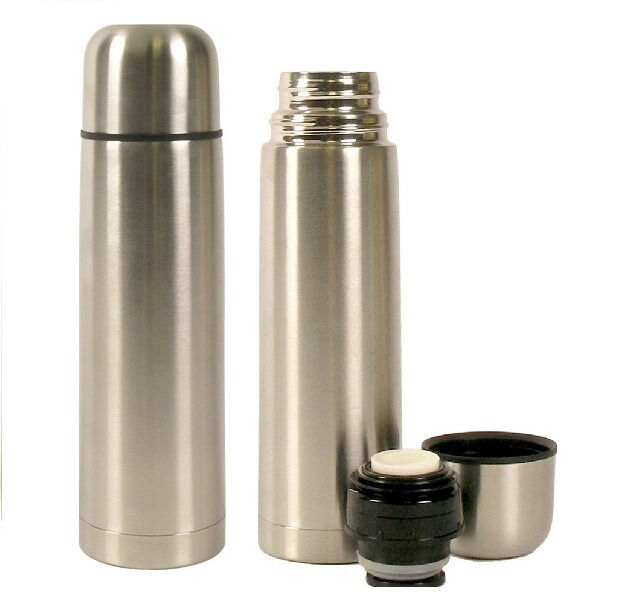 Lot Of 2 Vacuum Stainless Steel Insulated Double Wall