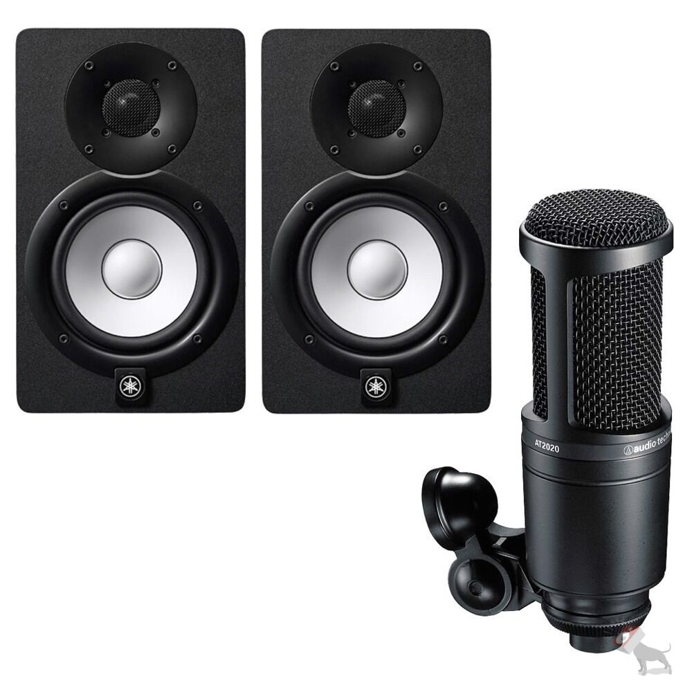 Yamaha hs7 powered studio speaker monitor pair audio for Yamaha powered monitor speakers