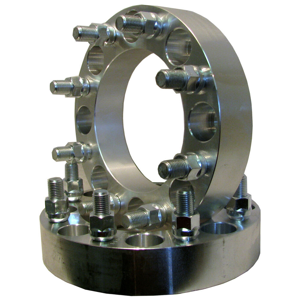 Aluminum adapter spacer to bolt pattern circle