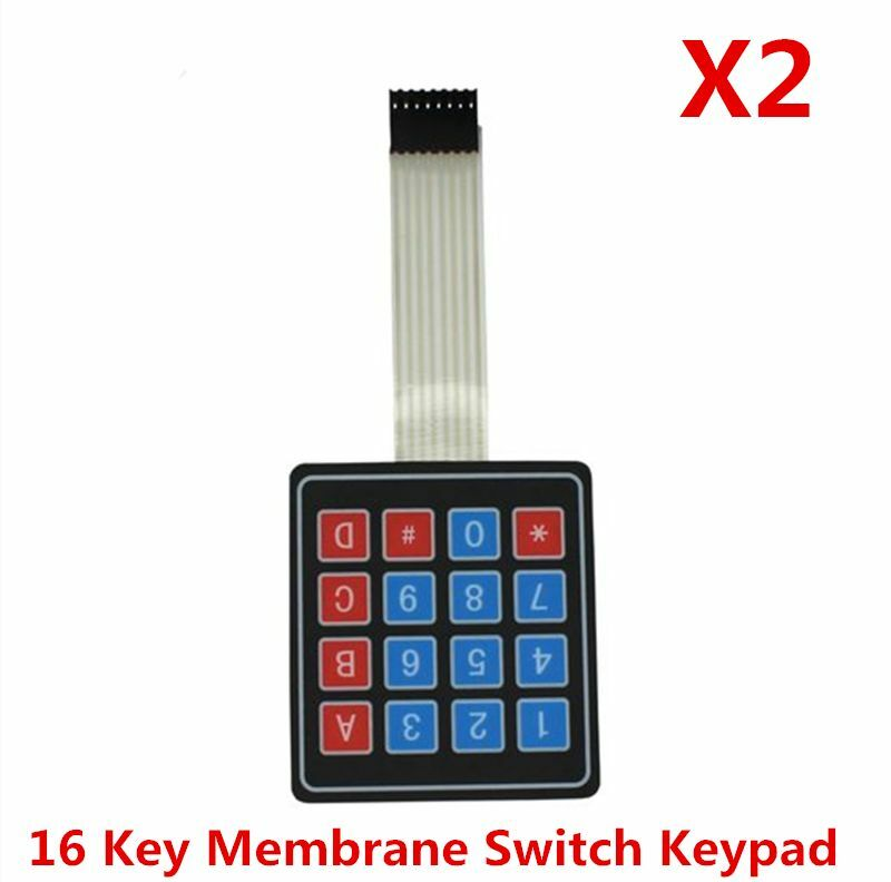 Pcs matrix array key membrane switch keypad