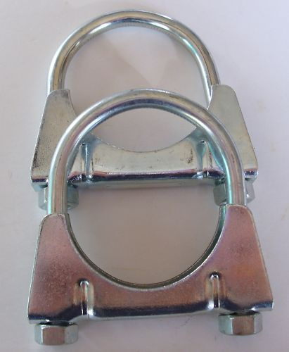 Heavy duty u bolt mm quot exhaust clamp universal