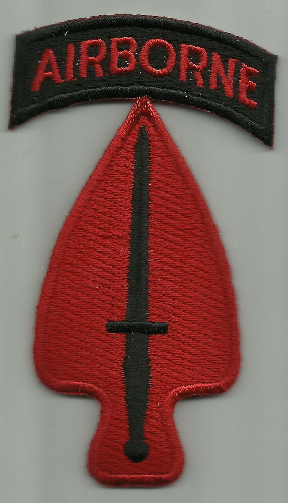 Delta Force Beret Flash US ARMY SPECIAL FORCES 160TH