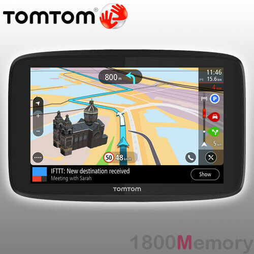 genuine tomtom go 620 in car gps navigation 6 interactive. Black Bedroom Furniture Sets. Home Design Ideas