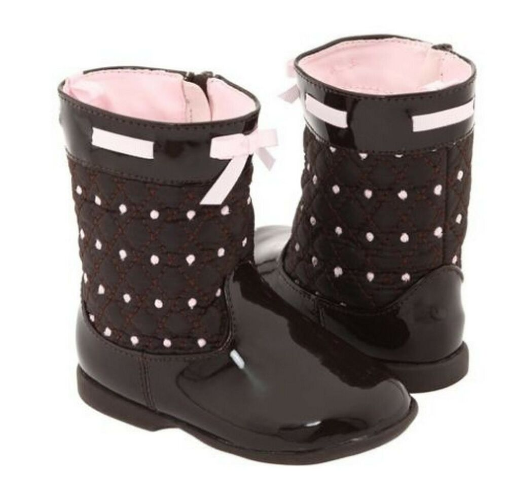 Little Kid Size 1 2 3 4 5 6 7 8 9 10 Width M W XW Style Boots Give your little lady the best of all baby shoes with a variety of designs to match any outfit. Browse our full selection of toddler and baby shoes to find all the comfort features your baby boy or baby girl may need, including padding, memory foam.