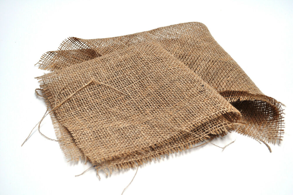 Hessian Square Pond Basket Liners X 3 Ebay
