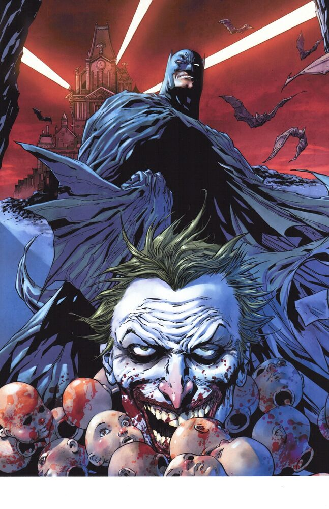 new 52 joker comic cover art by wally wood