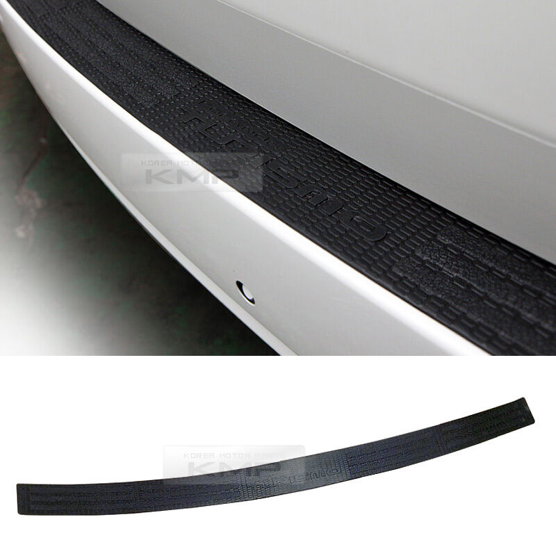 Rear Trunk Bumper Pad Rubber Protector For SSANGYONG 2013 ...