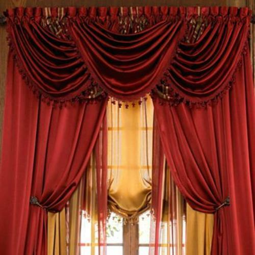 Luxurious Hilton Window Treatment Window Curtain Panel Or