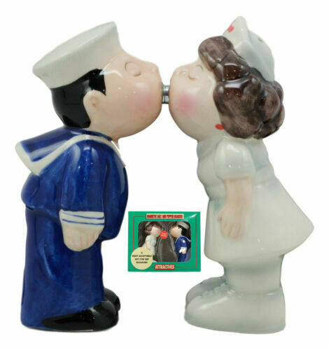 Cute Magnetic Salt Pepper Shakers Collectibles Sailor And