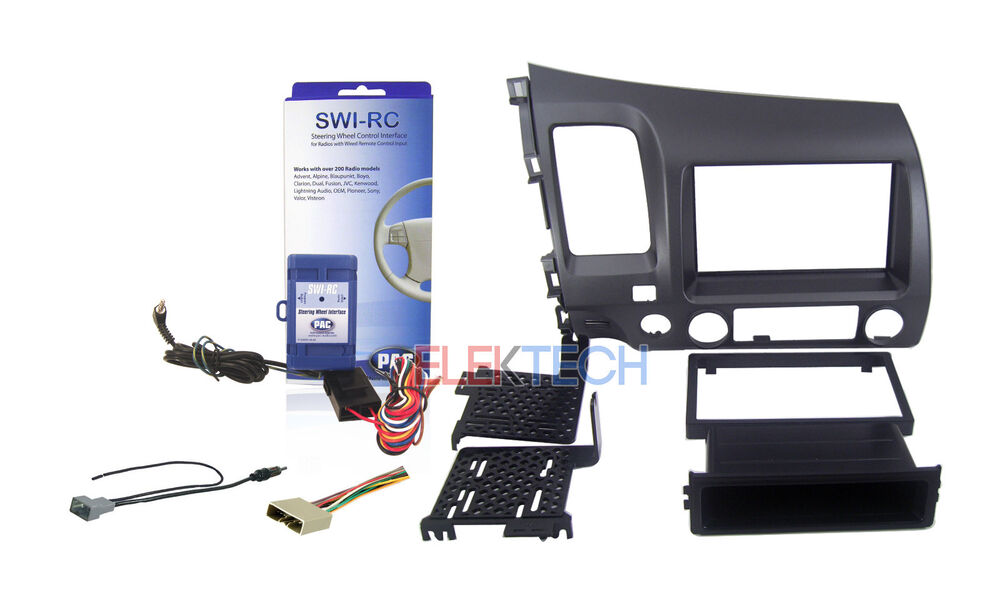 radio replacement dash kit 2 din w harness antenna. Black Bedroom Furniture Sets. Home Design Ideas