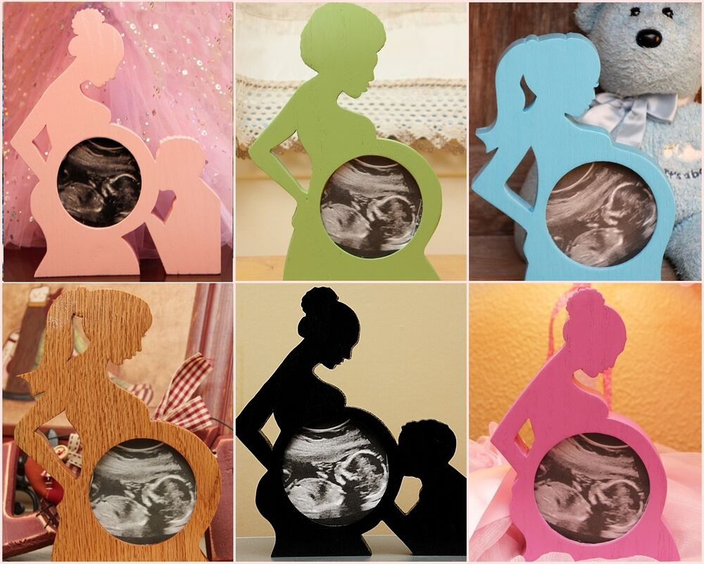 First photo ultrasound sonogram oak wood baby picture frame first photo ultrasound sonogram oak wood baby picture frame silhouette keepsake ebay jeuxipadfo Images