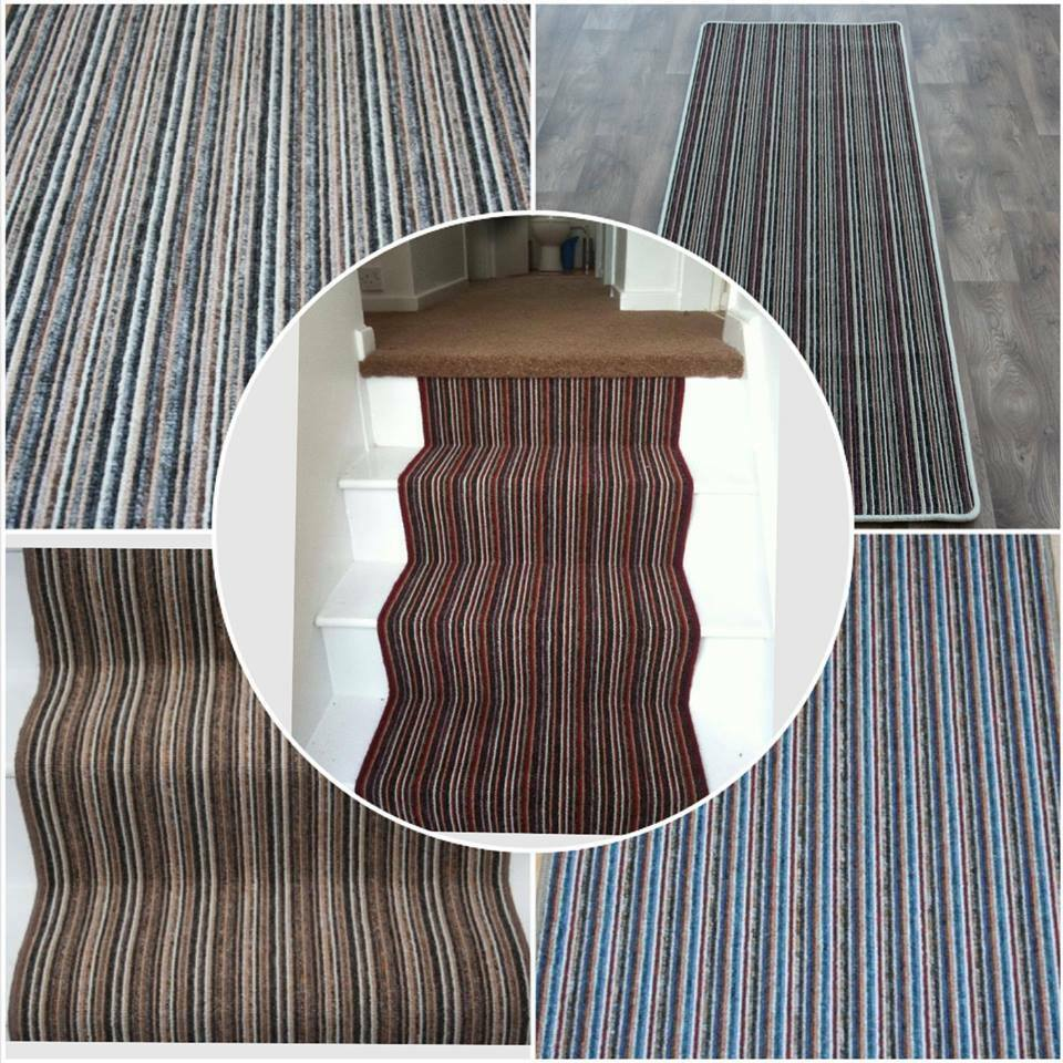 Amusing striped carpet pictures
