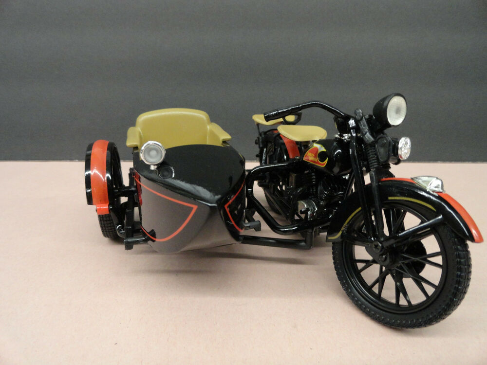 Harley davidson collectible 1933 motorcycle sidecar bank for Ebay motors indian motorcycles