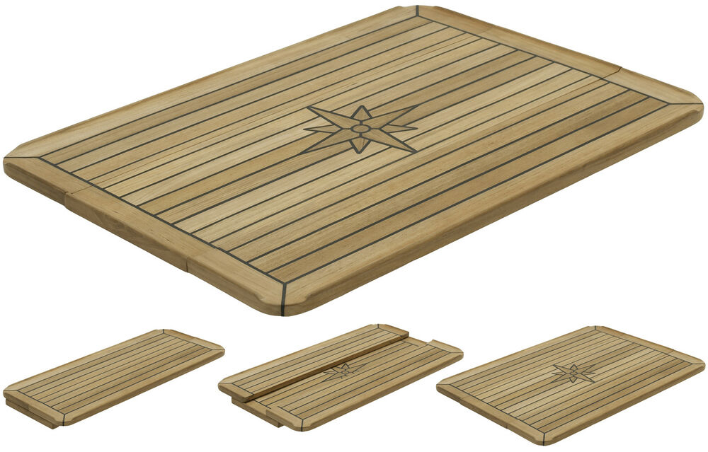 Teak Table Nautic Star Quot Slide Quot Three Sizes Available