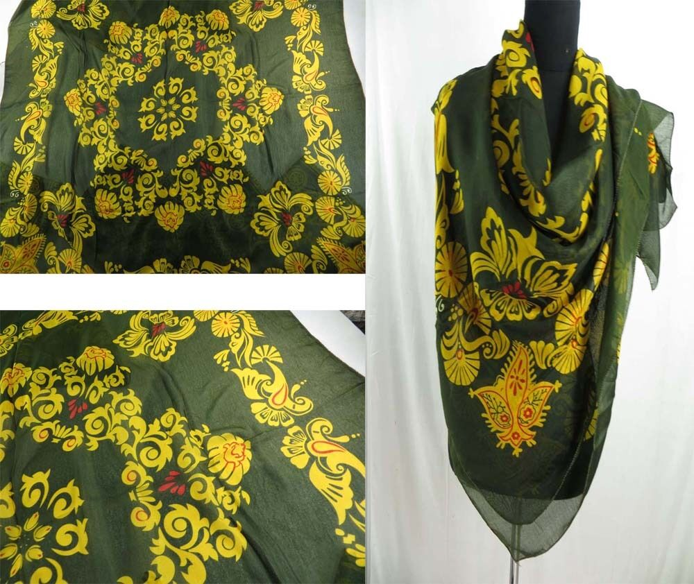 large square vintage scarf sale retro wholesale