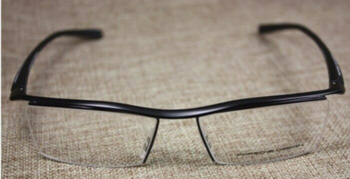 NEW LUXURY HALF RIMLESS EYEGLASSES GLASSES FRAMES DESIGN ...