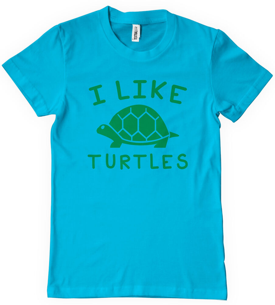 i like turtles t shirt funny zombie kid humor tee retro. Black Bedroom Furniture Sets. Home Design Ideas