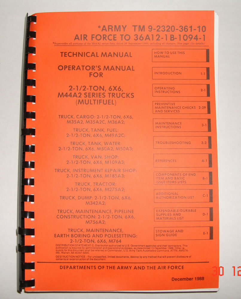 M1008 Technical Manual