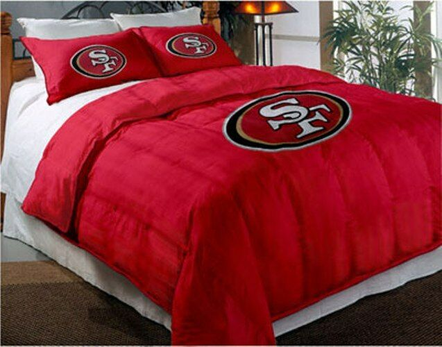 San Francisco 49ers Nfl Twin Comforter Pillow Sham Set Ebay