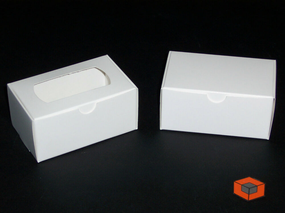 200 White card BUSINESS CARD Boxes from 7p each
