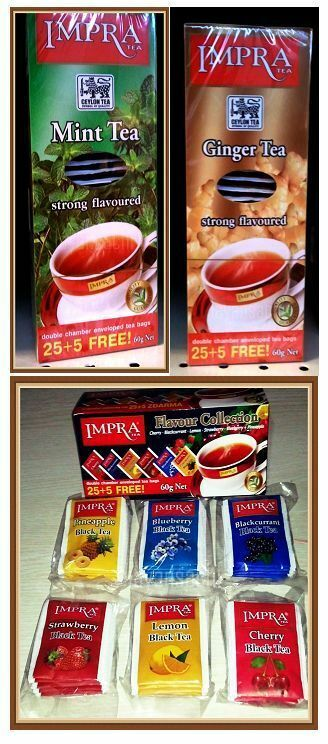... Impra Flavored Tea Cherry Apple Lemon Blackcurrant and More | eBay