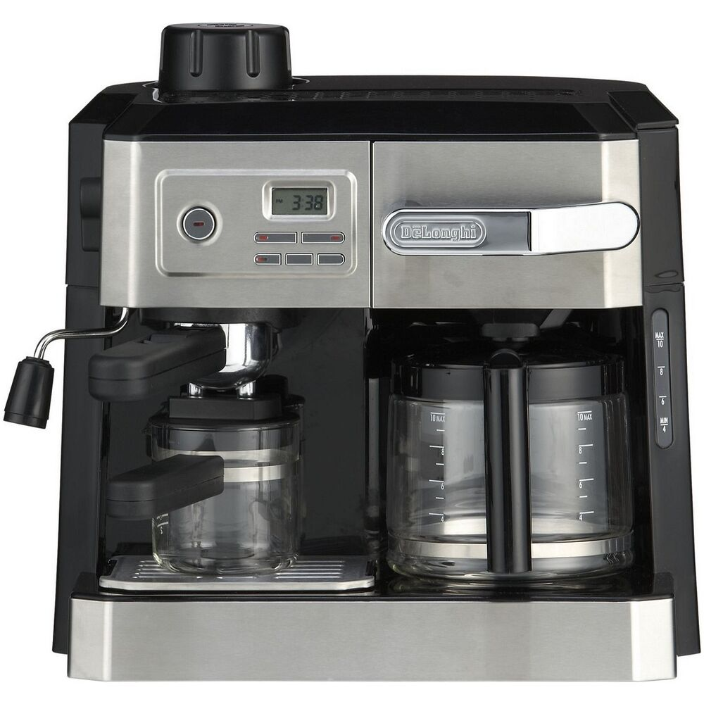 Coffee Cappuccino Maker ~ Delonghi bco t combination espresso coffee cappuccino