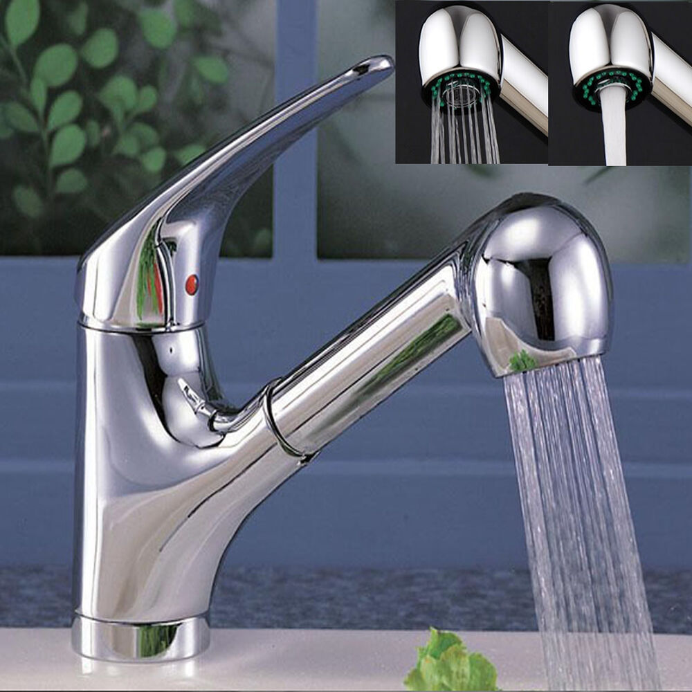 kitchen faucet with spray kitchen faucet spray sink sprayer shower pull out replace head ebay 4295